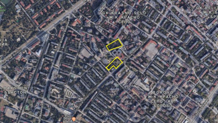 """Столичани протестират срещу застрояване на градинка в квартал """"Борово"""""""