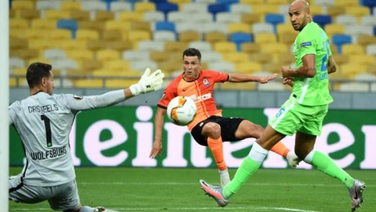 Шахтьор (Донецк) се класира за четвърфиналите в Лига Европа.