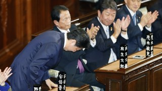 Преизбраха Шиндзо Абе за премиер на Япония