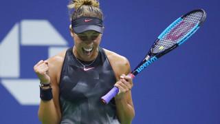 Медисън Кийс подсигури домакинското каре на полуфиналите на US Open 2017