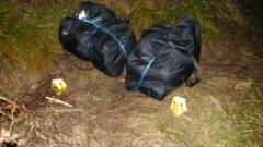Граничари хванаха македонци с 45 килограма марихуана