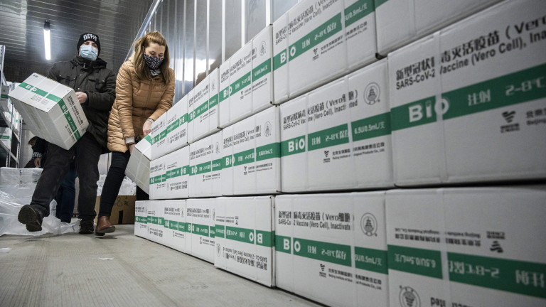 Чехия е втората държава от ЕС, поръчала китайска ваксина