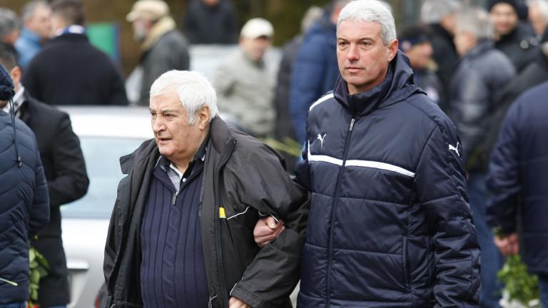 Снимка: Иван Вуцов е една от най-фундаменталните личности за българския футбол, отбелязаха от БФС