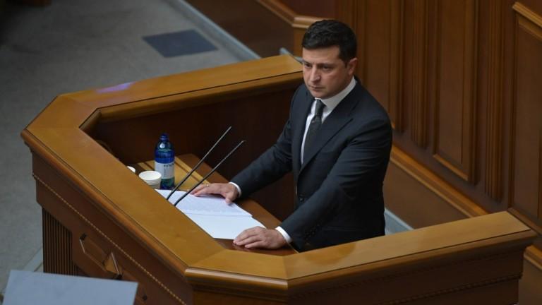 Украинският президент Володимир Зеленски поздрави САЩ по повод Деня на