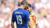Бонучи е №1 на мача Италия – Испания