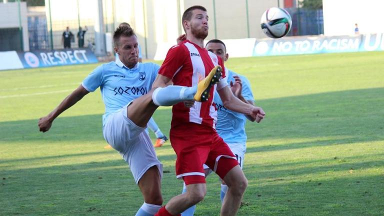 Созопол увеличи шансовете си за Първа лига след бой над Банско