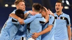 Лацио вкара 4 гола и се класира за 1/4-финалите от турнира за Купата на Италия
