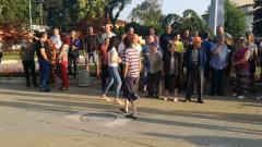 Протест в Угърчин срещу посегателства на цигани