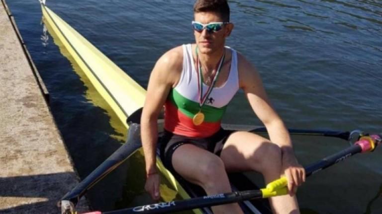 Гребецът Кристиян Василев не успя да спечели квота за Токио 2020