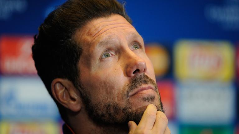 Старши треньорът на Атлетико (Мадрид) Диего Симеоне не скри, че