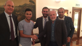 Босът на Наполи: Искам Скудетото, Шампионската лига не е нашата цел