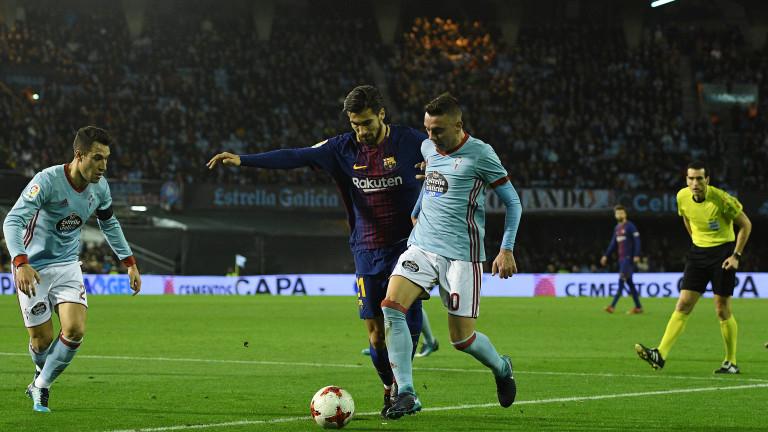 Селта (Виго) е домакин на Барселона в двубой от 36-ия
