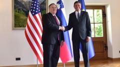 Помпео не изключи появата на американски военни в Словения