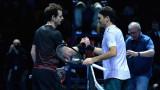 Роджър Федерер победи Анди Мъри в Глазгоу