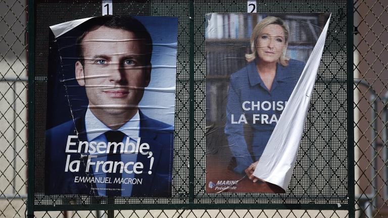 """Имало секретен план за """"защита"""" на Франция при победа на Марин льо Пен"""