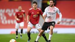Манчестър Юнайтед - Милан 1:0, гол на Диао