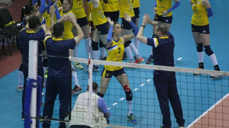 Българският шампион Марица стартира с победа в турнира за