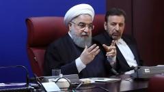 Президентът на Иран скастри хардлайнерите: Протестите не бяха само икономически