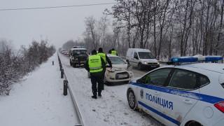 Близо 200 катастрофи в София с пролетния сняг