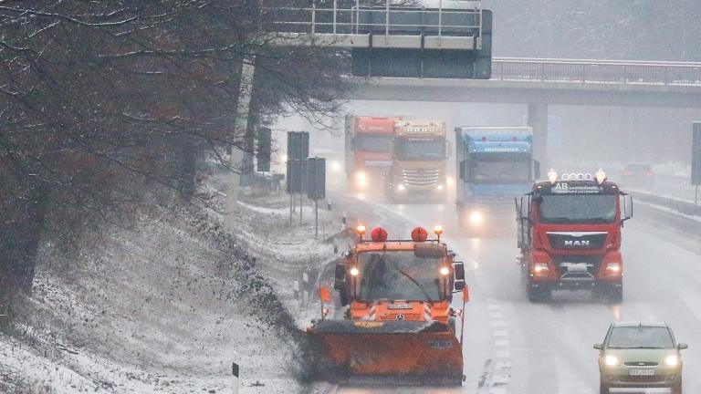 Камери на МВР ще следят състоянието на пътищата през зимата в Пловдив