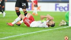 ЦСКА взе решение за своя капитан Петър Занев