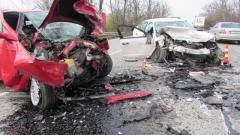 Шофьор с 3.24 промила се заби челно в друг автомобил тази сутрин