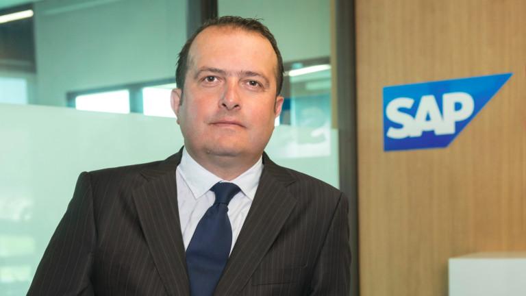 Радомир Миланов е новият управляващ директор на SAP България, съобщиха