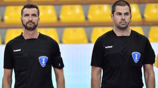 Престижен наряд за хандбалните рефери Георги Дойчинов и Юлиан Горецов