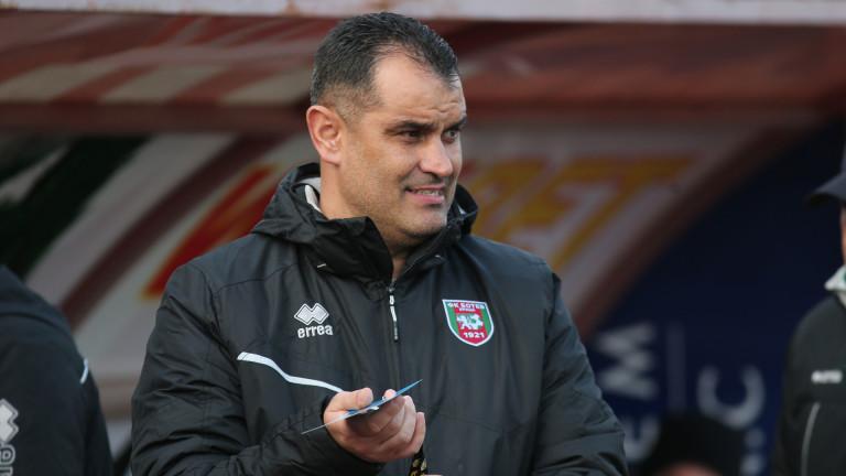 Новият треньор на Ботев (Враца) - Веселин Великов, сподели мнението