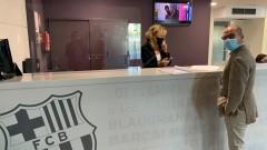 Официално: Кандидат за президент входира вот на недоверие срещу Бартомеу и борда на директорите на Барса