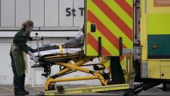 Рекордните 563 жертви на коронавируса за 24 часа във Великобритания