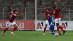 """Драма на """"Армията""""! ЦСКА се измъчи срещу дебютант от Малта, но продължава напред в Лига Европа"""