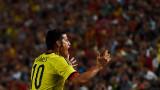Мигел Борха коства победата на Колумбия срещу скучна Австралия
