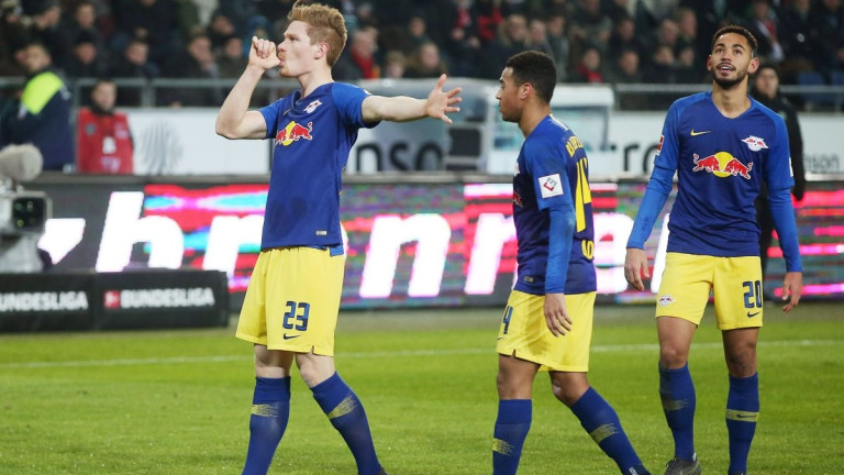 РБ (Лайпциг) постигна втора поредна победа след подновяването на Бундеслигата.