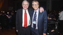 Историята на приятелството между Уорън Бъфет и Бил Гейтс