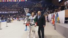 Кралев награди победителите от Европейското първенство по карате киокушин