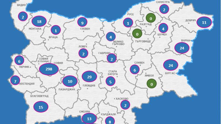 503 са потвърдените случаи на COVID-19 у нас към 17
