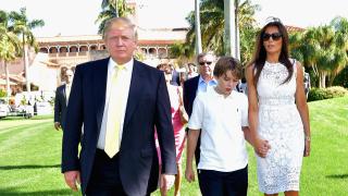 Синът на Доналд Тръмп получи писмо с бял прах