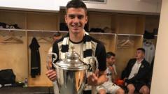 Андреа Христов от Славия пред ТОПСПОРТ: За момента не бих играл в друг български клуб, в бъдеще - може би