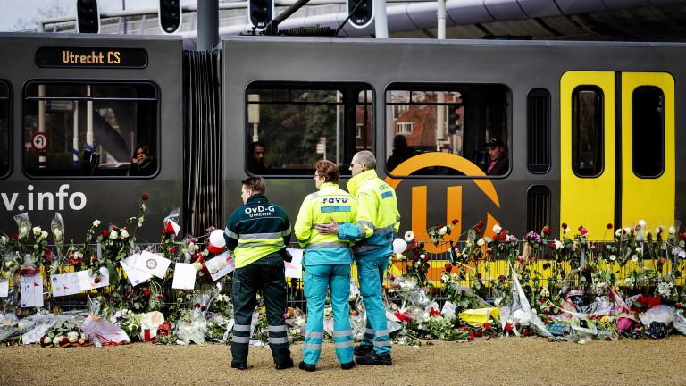 Четирима са загинали при стрелбата в Утрехт