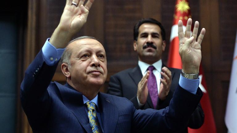 Президентът на Турция Реджеп Тайип Ердоган обяви, че турските служби