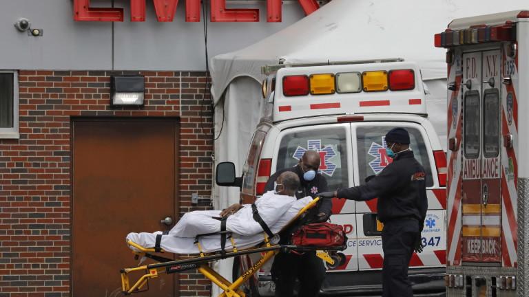 Нов рекорд в Ню Йорк: 799 починали от коронавируса за 24 часа