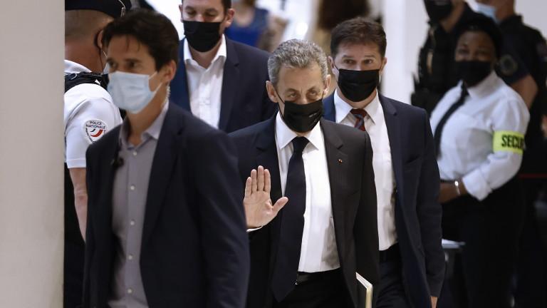 Френската прокуратура поиска шест месеца затвор за бившия президент Никола