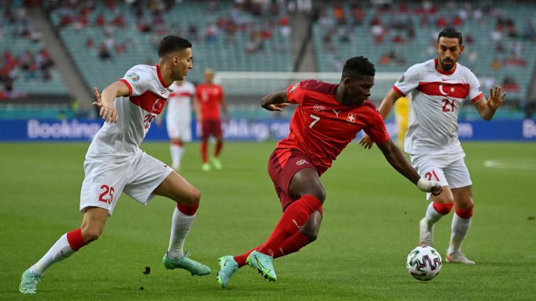 Швейцария - Турция 3:1, втори гол на Шакири