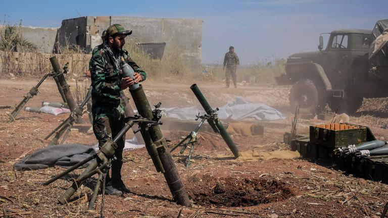 Режимът в Сирия продължава да избива цивилни