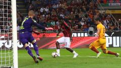 Милан - Рома, 2:1 (Развой на срещата по минути)