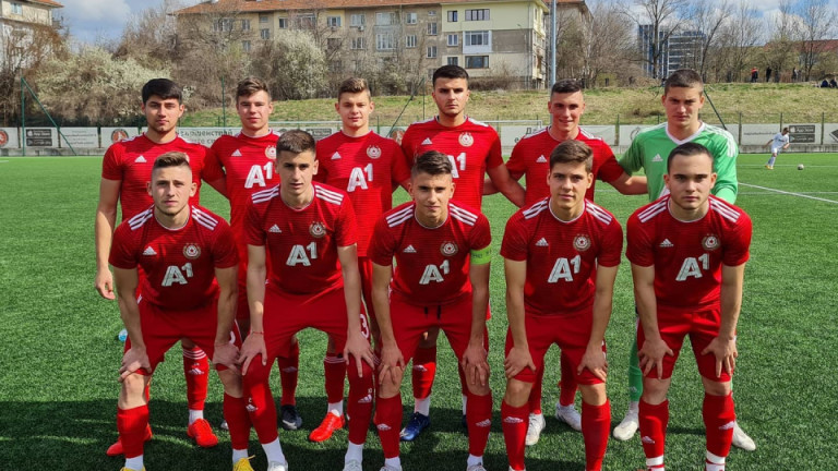 ЦСКА U18 загуби от Славия, Смоленски вкара гол