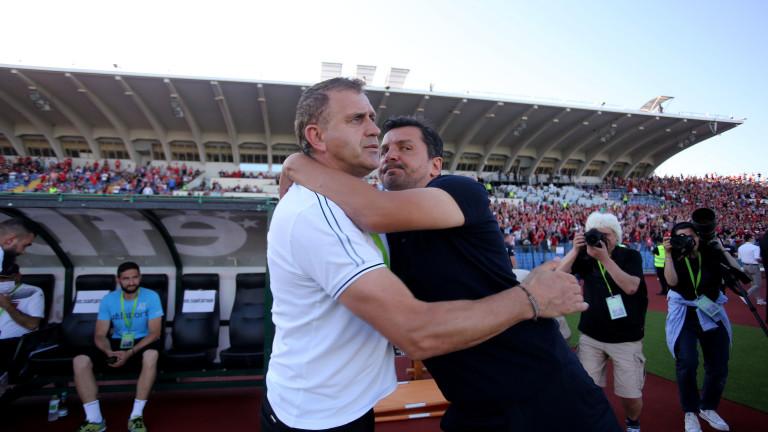 Старши-треньорът на двукратния вече носител на Купата на България Локомотив