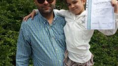 Малък Тошко горд с дъщеря си