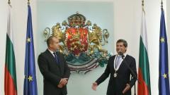 Президентът Румен Радев награди посланика на Австрия у нас